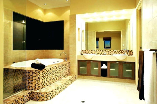 Creative interior design ideas for cozy yellow bathroom ...